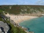 Cornwall - Porthcurno beach